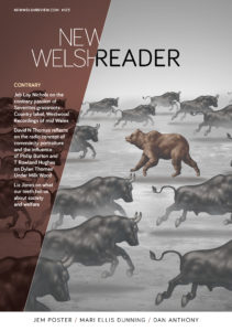 Cover of New Welsh Reader 123 (summer 2020)